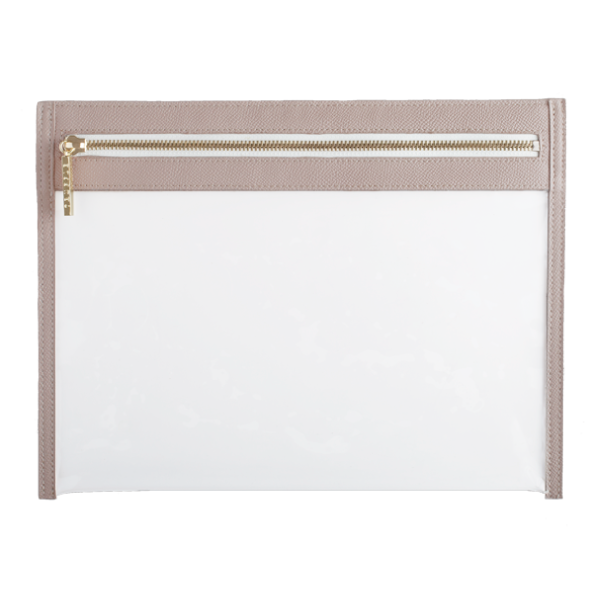 TRUFFLE-Clarity-Clutch_Large_Nude_Front_grande.png